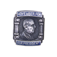 November For Our President Tie-Tack