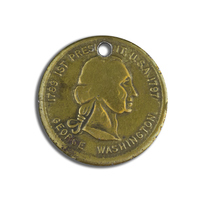 First President U.S.A., George Washington Token