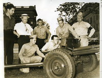 Servicemen Inspect New Antitank Gun At The Jefferson Barracks