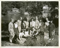 Members of the 365th Technical School Squadron And The Women's Chamber Of Commerce Of St. Louis
