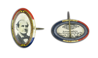 William Jennings Bryan Button