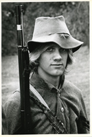 Jefferson Barracks - Soldier Reenactor