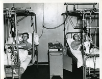Jefferson Barracks - Patients Listening to Radio