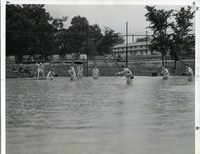 Jefferson Barracks - Baseball in the Rain