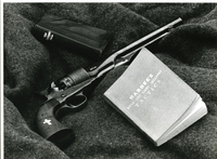 Jefferson Barracks - Revolver, Bible, and Tactics Book