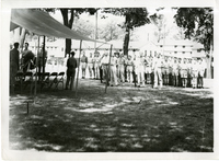 Funeral of a German Prisoner of War at National Cemetery, Jefferson Barracks