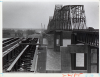 Jefferson Barracks Bridge Construction