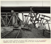 Old Jefferson Barracks Bridge Demolition