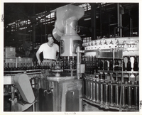 The Carling Brewery Company's Bottle Filling Process