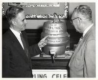 The Carling Brewery's 3 Millionth Barrel of Beer