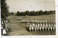 Jefferson Barracks - Sixth Infantry, Marching in Review
