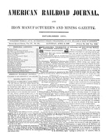 American Railroad Journal April 8, 1848