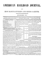 American Railroad Journal April 15, 1848