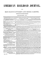 American Railroad Journal May 6, 1848