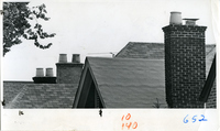 The Roof and Chimney Of Houses On Vermont Avenue