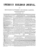 American Railroad Journal May 20, 1848