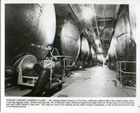 Anheuser Busch-World's Largest Lagering Tanks