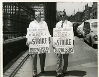 Anheuser-Busch Brewery - Newark Plant Picketers