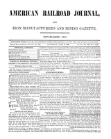 American Railroad Journal June 3, 1848