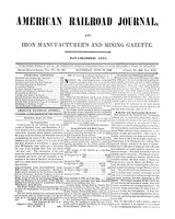 American Railroad Journal June 10, 1848
