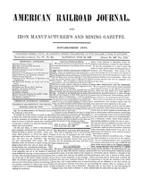American Railroad Journal June 24, 1848