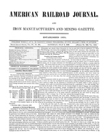 American Railroad Journal July 8, 1848