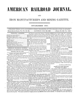 American Railroad Journal July 22, 1848