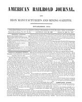 American Railroad Journal July 29, 1848