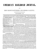 American Railroad Journal September 2, 1848