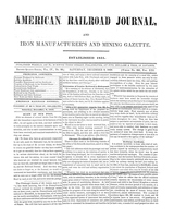 American Railroad Journa December 9, 1848
