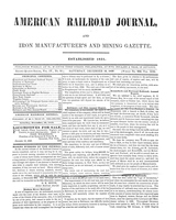 American Railroad Journal December 16, 1848