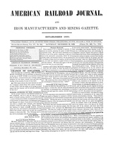 American Railroad Journal December 23, 1848