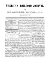 American Railroad Journal January 13, 1849