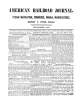 American Railroad Journal February 3, 1849