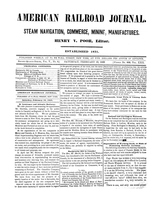 American Railroad Journal February 10, 1849