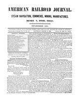 American Railroad Journal March 17, 1849