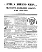 American Railroad Journal March 31, 1849