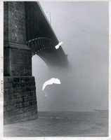 Eads Bridge-Foggy, Foggy Dew on Waterfront