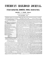 American Railroad Journal July 7, 1849