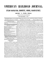 American Railroad Journal July 28, 1849