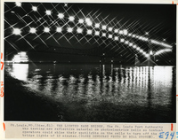 The Lighted Eads Bridge