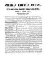 American Railroad Journal November 17, 1849