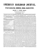 American Railroad Journal December 1, 1849