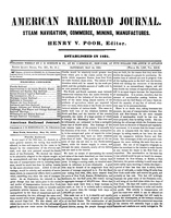 American Railroad Journal May 24, 1856