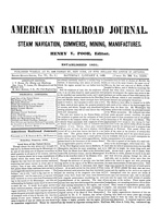 American Railroad Journal January 5, 1850