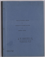 Report of the General Committee on Coordination of Railroad Facilities at Freeport, Illinois