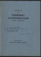 Report on Terminal Coordination Peoria-Pekin, Illinois