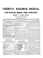 American Railroad Journal April 6, 1850