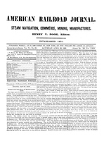 American Railroad Journal April 20, 1850