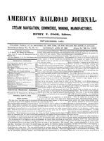 American Railroad Journal April 27, 1850